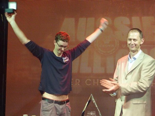 Tyron Krost Aussie Millions winner