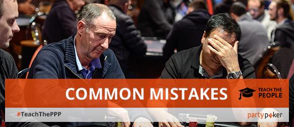Common poker mistakes