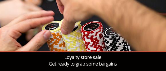 Loyalty store sale