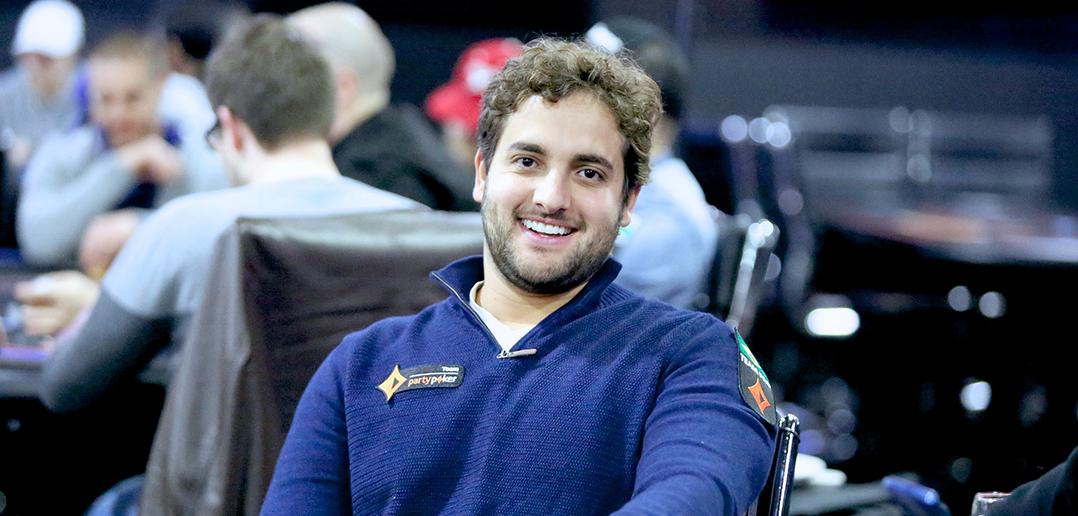 João Simão no Caribbean Poker Party 2018