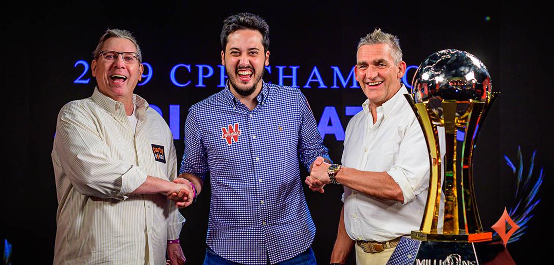 Adrian Mateos wins the 2019 CPP MILLIONS World Bahamas Main Event