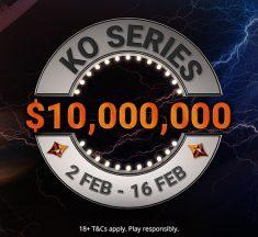 Massive Weekend of KO Series Action; Over $2.6M Gtd!