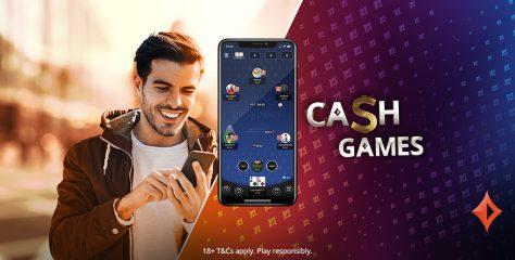 Los cash games se suman a la nueva app de partypoker