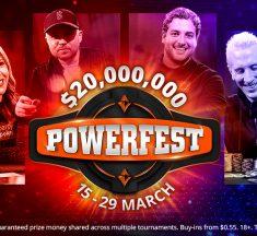 Com garantidos somados de $ 1.25 mi, Main Events da Powerfest acontecem hoje