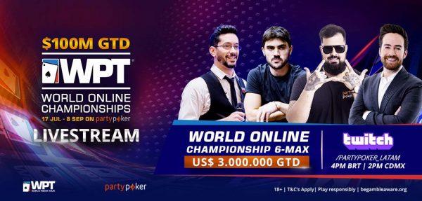 En busca del campeón: se define el WPT 6-Max Championship