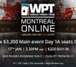 WPT Montreal Main Event Mega Satellite