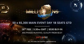 MILLIONS Online Mega Sat 1B