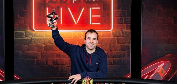 Lefrancois lo hizo de nuevo: ganó el Super High Roller del MILLIONS Online