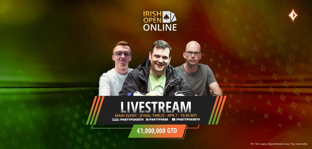 Irish Open Main Event stream