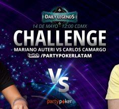 Auteri vs. Camargo: ¡hoy hay Daily Legends Challenge en Twitch!