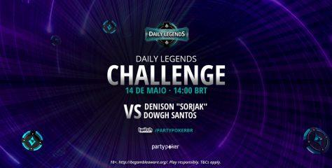 'Dowgh Santos' e 'Sorjak' protagonizam duelo no Daily Legends Challenge: embate vai ao ar nesta sexta, na Twitch