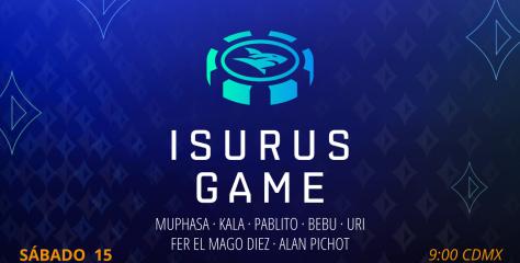 Isurus Game: el freeroll y el Sit & Go se viven en Twitch